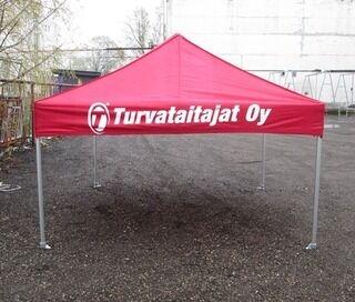 Pop up teltta Turvataitajat Oy