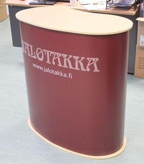 Esittelypöytä Jalotakka