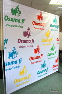Reklaamstend Osuma.fi