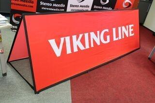 Soft bänner Viking Line