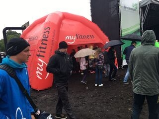 Inflatable tent MyFitness