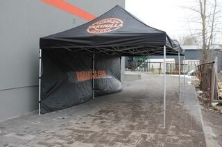 4x8m pop up telk logoga