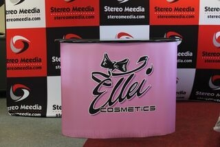 Big exhibition table Ellei Cosmetics