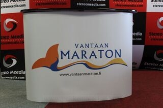 Big exhibition table Vantaa Maraton