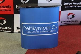 Small exhibition table Peltikymppi Oy