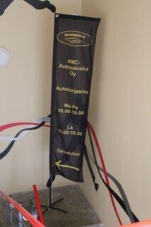 Advertisement flag 4,5m