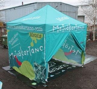 3x3m Metsäkartano teltta