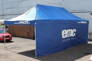 EMC 4x8m mainosteltta