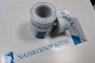 Warning foil Naiskodukaitse