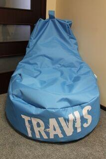 Logoga kott-tool Travis