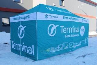 Reklaamtelk 3x6m Tartu Terminal