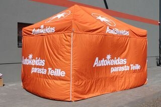 3x4,5m Autokeidas pop up teltta