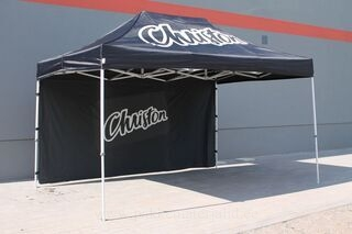 Christon advertising tent