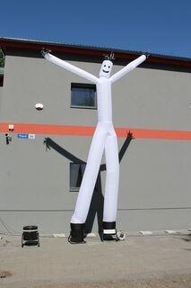 5m white sky dancer