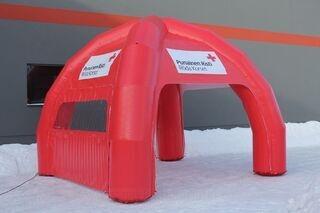Punainen Risti teltta