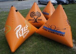 Custom printed buoys