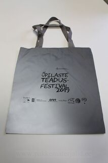 Reflective shopping bag
