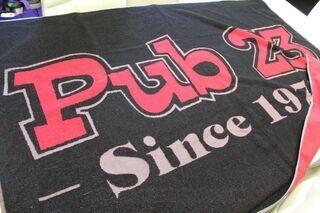 Ettevõtte logoga rätik