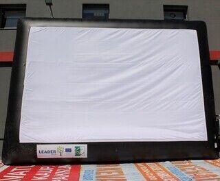 Täispuhutav ekraan 730x530cm