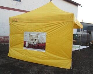 Brändätty teltta 4x8m