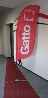 Mainoslippu Gatto