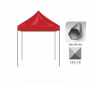 Pop Up telk 1,5x1,5m Hex40