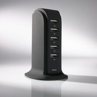 LAADIMISJAAM POWER TOWER, 5 USB 15. pilt